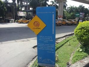 1 of 2 city centers in Kolkata