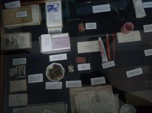 Mother Teresa's personal belongings