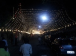 Streets of Kolkata during Durga Puja