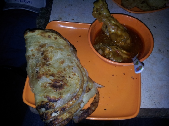 Paratha Chicken
