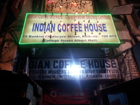 Indian Coffee House at College Street
