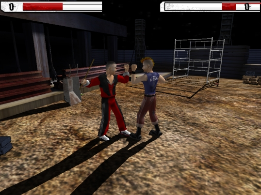 Underground Fighting in-game screenshot
