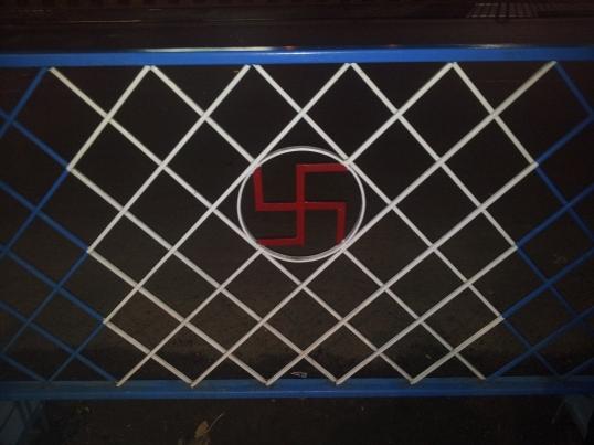 Swastika in Kolkata