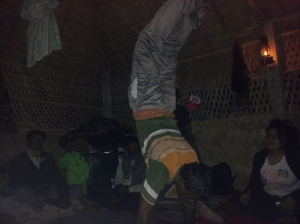 Yoga at the Eco-village