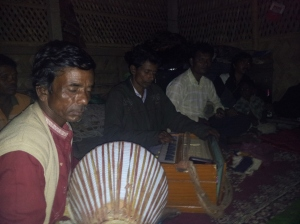 Musicians at the Eco-village