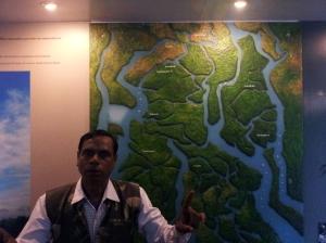 Guide at Sanjekhali Sundarban Tiger Reserve