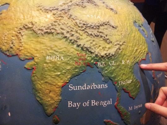 Globe at Sajnekhali Sundarban Tiger Reserve