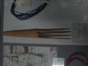 Comb at Indian Museum
