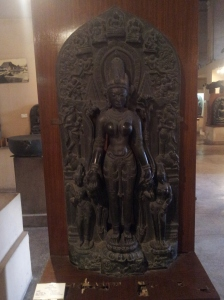 Slightly polished statue at Indian Museum