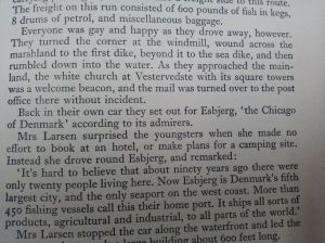"Mention of Esbjerg in the book ""A young traveler in Denmark"""