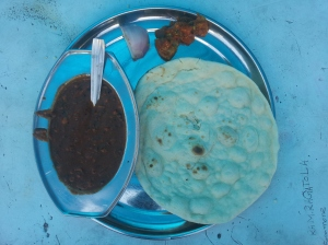 Dal Makhani + Naan + Onion + Cucumber in Shere Punjab Dhaba near City Centre