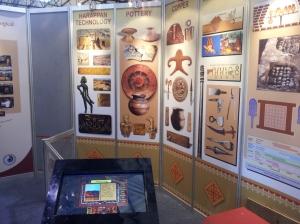 Wall scanner at INFOCOM 2012 in Kolkata