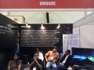VMWare at INFOCOM 2012 in Kolkata