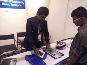 Electric bicycle at INFOCOM 2012 in Kolkata