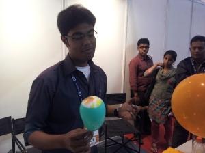 Balloon Kabab at INFOCOM 2012 in Kolkata