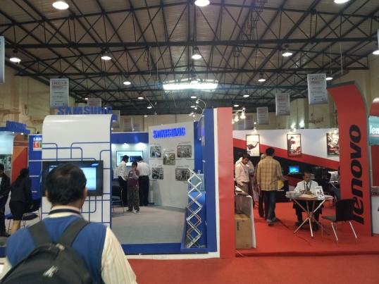 Samsung and Lenovo at INFOCOM 2012 in Kolkata