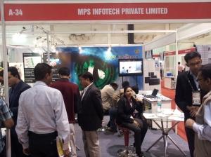 MPS Infotech at INFOCOM 2012 in Kolkata