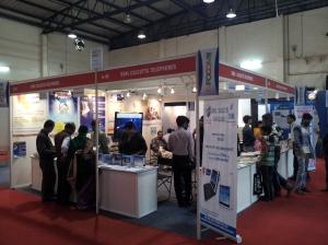 BSNL Calcutta Telephones at INFOCOM 2012 in Kolkata