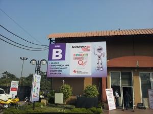 Hall B of INFOCOM 2012 in Kolkata