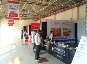 Food court at INFOCOM 2012 in Kolkata