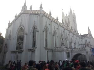 Saint Paul's Cathedral in Kolkata