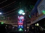 Park Street in Kolkata on Christmas of 2012