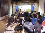 People in the Church on Park Street during Christmas of 2012 in Kolkata