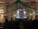 Decorations in the Church on Park Street during Christmas of 2012 in Kolkata