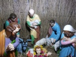 Birth of Christ in a Church on Park Street during Christmas of 2012 in Kolkata