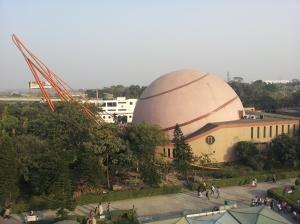 Space Odyssey building at Science City in Kolkata