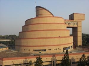 Dynamotion building at Science City in Kolkata