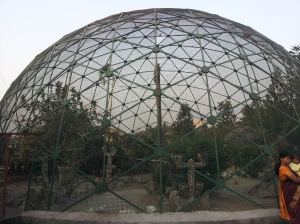 Bird cage in Science City