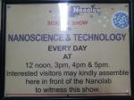 Nano Show timing