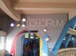 Aquarium hall entrance