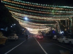 Park Street in Kolkata on New Years Eve