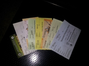Tickets to shows at BITM