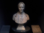 A bust of Louis Braille