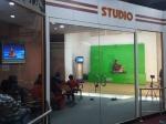 A Green Screen studio