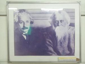 Rabindranath Tagore and Albert Einstein