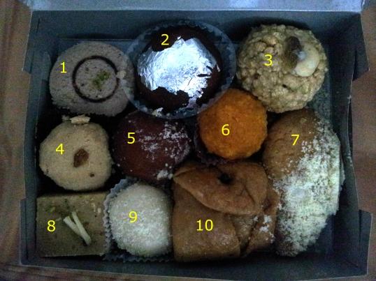Indian sweets in Kolkata