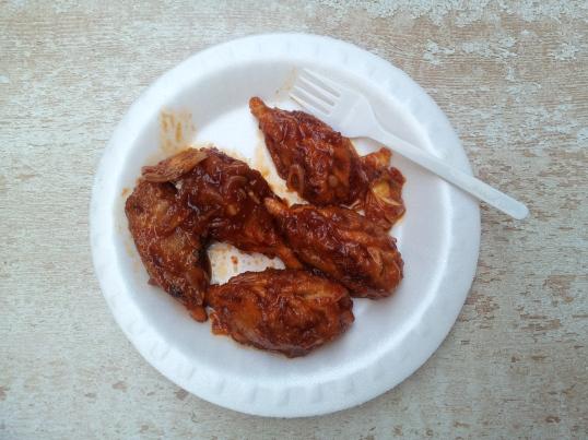 Pan fried veg. Momos at Chipootli, Salt Lake City Centre