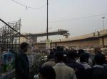 The queue to Kolkata Book Fair 2013