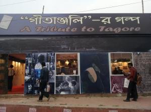 Tribute to Tagore at Kolkata Book Fair 2013