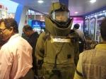 Bomb Suit at Kolkata Book Fair 2013