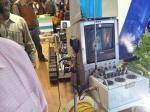 Bomb Disarming Robot at Kolkata Book Fair 2013